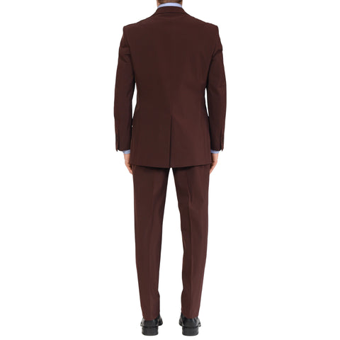 "D'AVENZA Roma Handmade Burgundy ""Techno"" Suit NEW"
