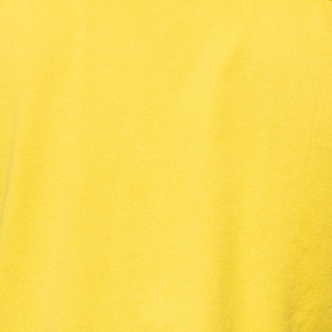 "FEDELI 34 LAB ""Phantom"" Solid Mustard Yellow Cotton Jersey Polo Shirt 52 NEW US L"