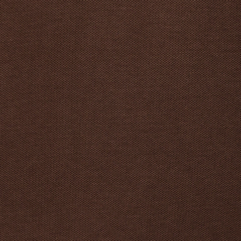 "FEDELI 34 LAB Solid Brown ""Dusty System"" Cotton Pique Polo Shirt EU 50 NEW US M"