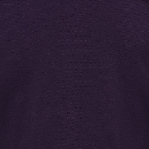 "FEDELI ""John"" Solid Purple Supima Cotton Pique Long Sleeve Polo Shirt 48 NEW S"
