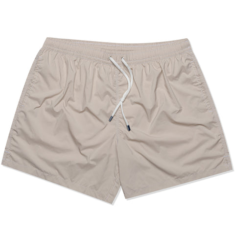 FEDELI Solid Beige Madeira Airstop Swim Shorts Trunks NEW 2XL