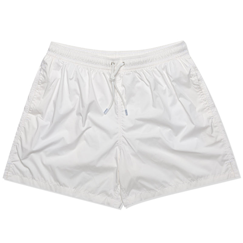 FEDELI Solid Ivory Madeira Airstop Swim Shorts Trunks NEW XL