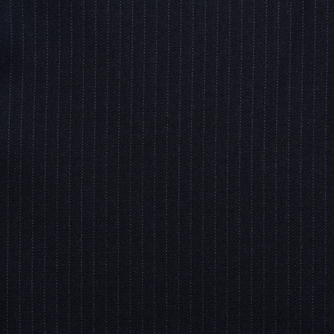 GIOVANNI CASTANGIA 1850 Handmade Dark Blue Striped Wool Sport Coat Jacket NEW