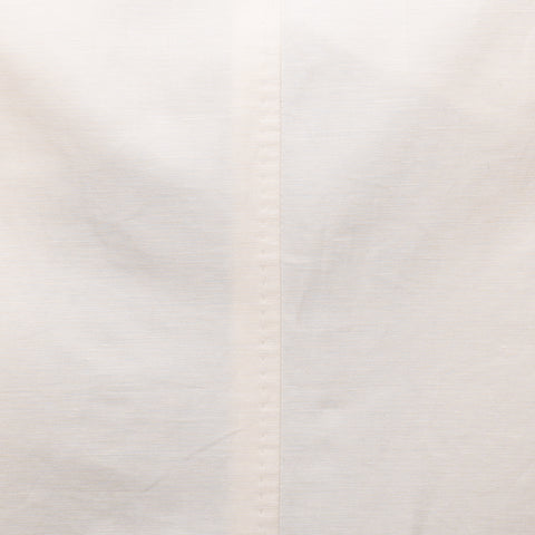 GIOVANNI CASTANGIA Ivory Cotton-Linen  Summer Jacket EU 48 NEW US 38