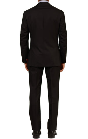 "ISAIA NAPOLI ""Base S"" Black Super 130's Wool Suit EU NEW - SARTORIALE - 2"