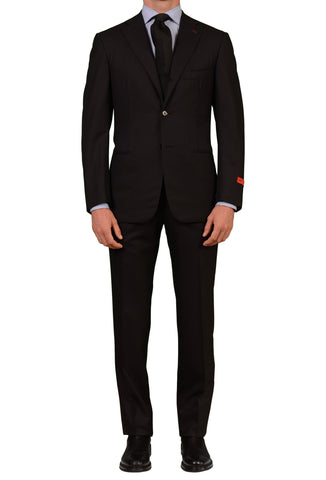 "ISAIA NAPOLI ""Base S"" Black Super 130's Wool Suit EU NEW - SARTORIALE - 1"