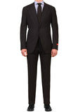 "ISAIA NAPOLI ""Gregory"" Navy Blue Striped Wool Suit EU 56 NEW 44 46 Slim Fit"