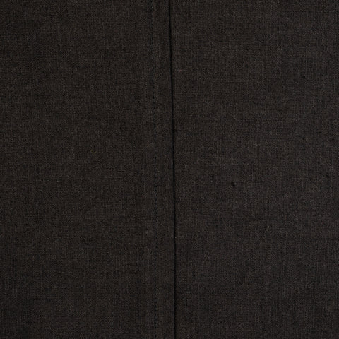 "ISAIA Napoli ""Augusto"" Black Washed Linen-Cotton Unlined Jacket EU 50 NEW US 40"