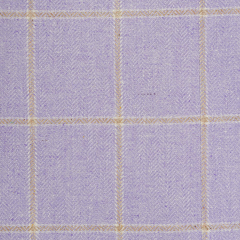 "ISAIA Napoli ""Base S"" Handmade Lavender Silk Jacket 48 NEW US 38"