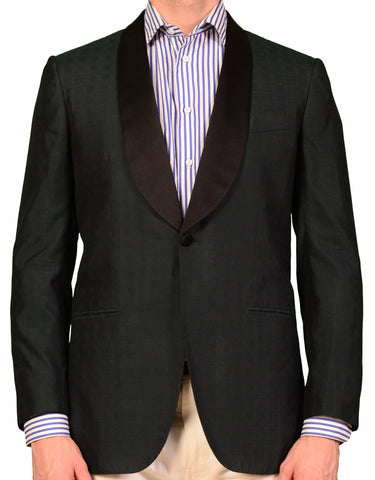 "KITON ""CIPA 1960"" Green Tuxedo Dinner Jacket EU 48 NEW US 38 Slim - SARTORIALE - 1"