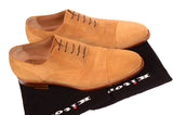 KITON NAPOLI Handmade Suede Captoe Oxford Dress Shoes UK 8.5 NEW US 9.5 - SARTORIALE - 8