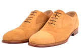 KITON NAPOLI Handmade Suede Captoe Oxford Dress Shoes UK 8.5 NEW US 9.5 - SARTORIALE - 3