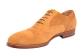 KITON NAPOLI Handmade Suede Captoe Oxford Dress Shoes UK 8.5 NEW US 9.5 - SARTORIALE - 4