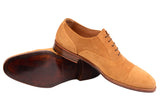 KITON NAPOLI Handmade Suede Captoe Oxford Dress Shoes UK 8.5 NEW US 9.5 - SARTORIALE - 5