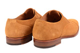 KITON NAPOLI Handmade Suede Captoe Oxford Dress Shoes UK 8.5 NEW US 9.5 - SARTORIALE - 6
