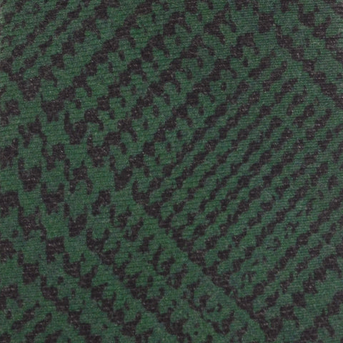 KITON Napoli Hand-Made Seven Fold Green Plaid Silk Tie NEW