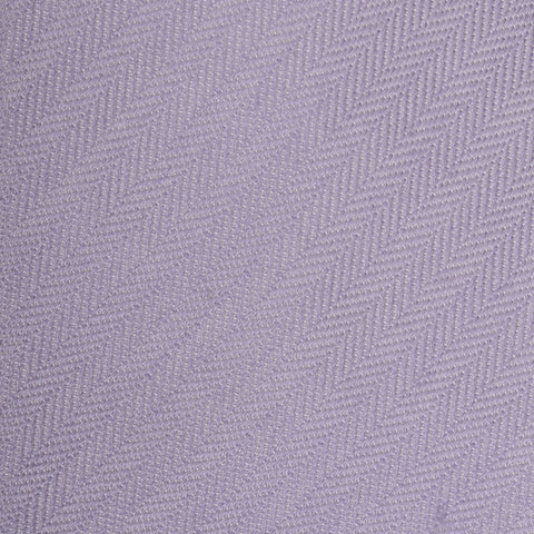 KITON Napoli Hand-Made Seven Fold Purple Herringbone Striped Silk Tie NEW