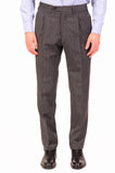 KITON Napoli Hand Made Gray Striped Cashmere Wool Suit EU 47 NEW 36 38 R9 Slim - SARTORIALE - 5