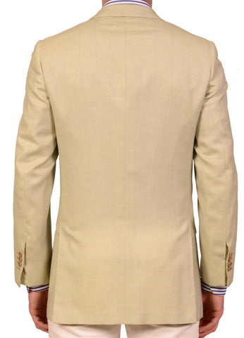 "KITON Napoli Hand Made Green Cashmere Jacket 38 40 NEW 50 R8 Slim ""Harry's"" - SARTORIALE - 2"