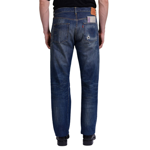 LEVI'S Vintage Clothing S 501 XX Blue Denim Selvedge Straight Jeans NEW W33 L34