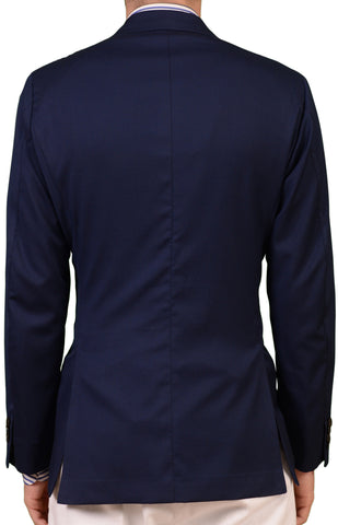 LH RUBINACCI London House Bespoke Jacket DB Navy Blue Blazer 50 NEW 38 40 - SARTORIALE - 2