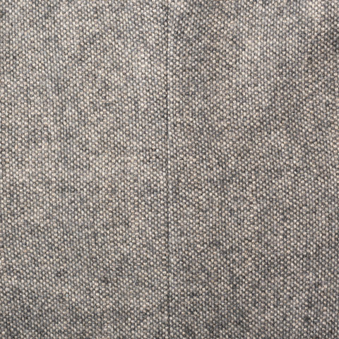 LORO PIANA Gray Silk-Wool-Cashmere Women's Coat IT 38 US 4 / XS