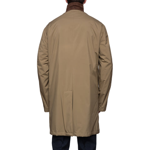 "LORO PIANA ""Sebring"" Windmate Storm System Cashmere Lined Coat NEW US 4XL"