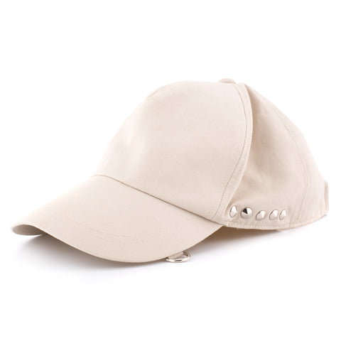 MASTERMIND JAPAN x CODELANE'S Beige Cotton Studded Cap Size M