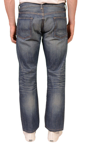 NSF Made In USA Blue Denim Straight Fit Selvedge Jeans W 32
