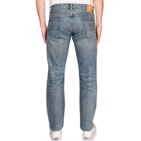 NSF Made In USA Blue Denim Straight Fit Selvedge Jeans 32