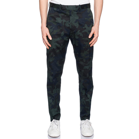 RLX RALPH LAUREN Green Camouflage Cotton Pants NEW US 34 Slim Fit