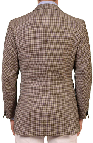 RUBINACCI LH Hand Made Bespoke Gray Wool Blazer Jacket EU 48 US 38