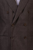 RUBINACCI LH Hand Made London House Bespoke Gray Flannel Wool Jacket 50 NEW 40 - SARTORIALE - 3