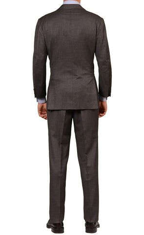 RUBINACCI LH Hand Made London House Bespoke Gray Wool Suit EU 50 NEW US 38 40 - SARTORIALE - 2