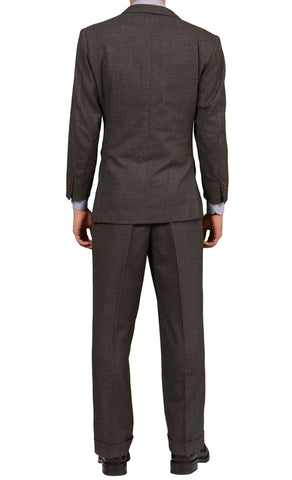 RUBINACCI LH London House Bespoke Gray Flannel Wool Suit 50 Short US 38 40 Short - SARTORIALE - 2