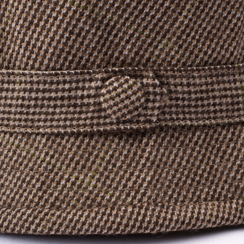 "RUBINACCI London House by Herbert Johnson UK Wool Tweed ""Humphrey"" Hat 6 3/4-55"
