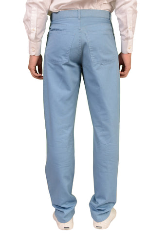 RUBINACCI Napoli Blue Cotton Jeans Pants EU 46 NEW US 30 Straight Classic Fit - SARTORIALE - 2