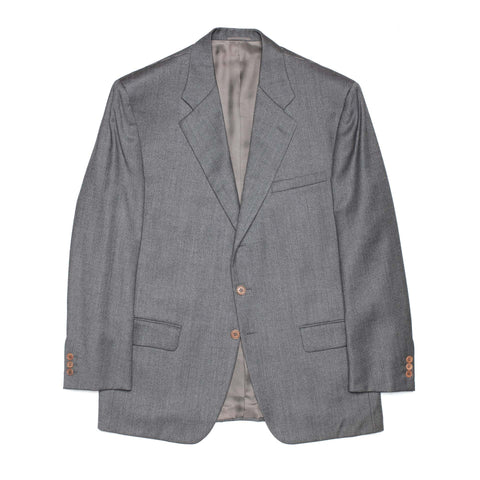 SARTORIA CASTANGIA Gray Wool Jacket Sport Coat EU 54 NEW US 44