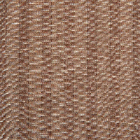 SARTORIA CASTANGIA Brown Striped Cashmere-Linen Unlined Suit EU 50 NEW US 40