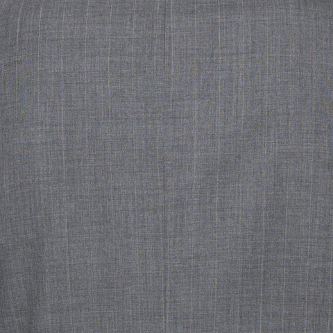SARTORIA CASTANGIA Gray Striped Wool Super 120's Suit EU 52 NEW US 42
