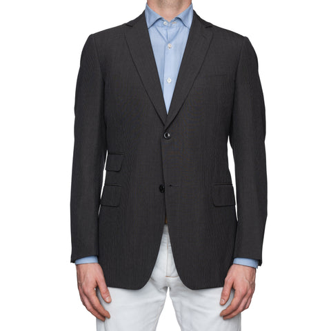 SARTORIA CASTANGIA Gray Wool Super 130's Jacket EU 52 NEW US 42