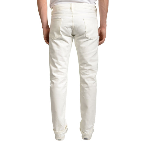 SIMON MILLER M002 Stinson White Selvedge Denim Slim Jeans NEW 32