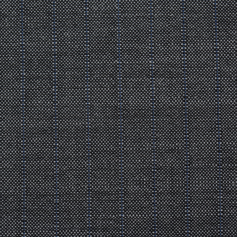 Sartoria PARTENOPEA For SULKA Gray Striped Wool-Mohair Suit EU 50 NEW US 40
