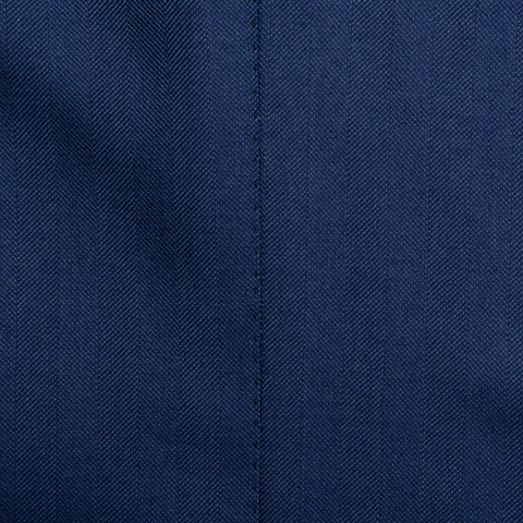 SARTORIA CASTANGIA Blue Wool-Silk-Cashmere Jacket with Silk Lining 50 NEW US 40