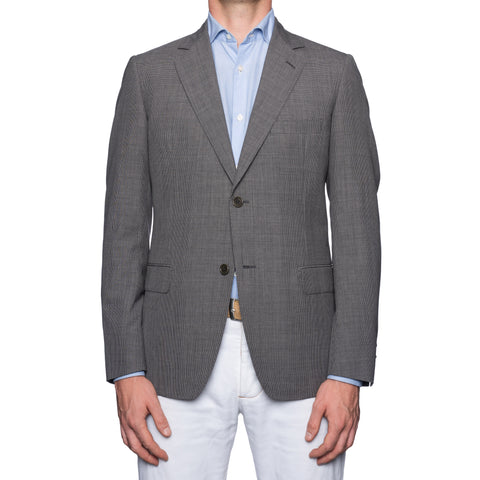 SARTORIA CASTANGIA Gray Wool Super 130's Jacket EU 50 NEW US 40