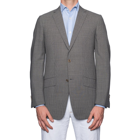 SARTORIA CASTANGIA Gray Wool Super 110's Unlined Jacket 48 NEW US 38