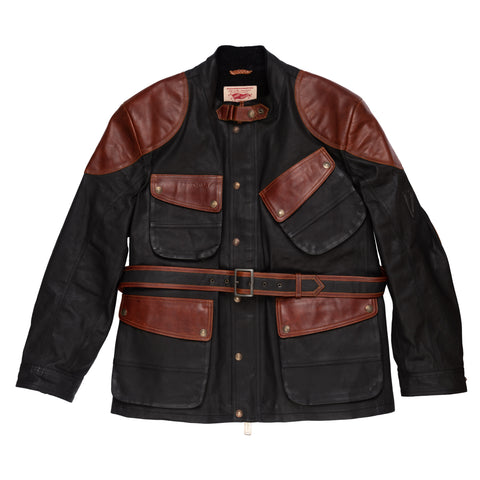 THEDI LEATHERS X LEGENDARY MOTORCYCLES Armalith Touring Jacket Size XXL