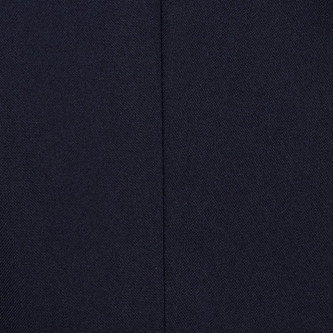 CANALI 1934 Solid Navy Blue Wool-Silk 3 Piece Suit NEW 2019-20 Model