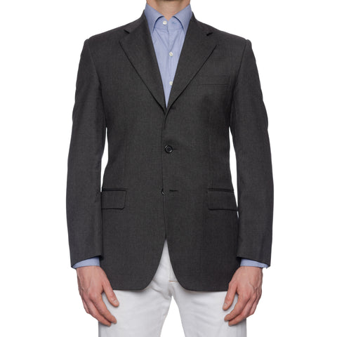 WALL ST. Gray Lanificio Angelico Wool Jacket EU 48 NEW US 38