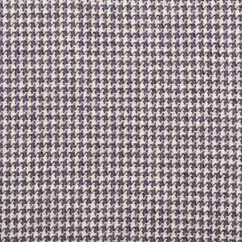 "BRIONI ""COLOSSEO"" Purple Houndstooth Wool Flannel Jacket EU 48 NEW US 38"
